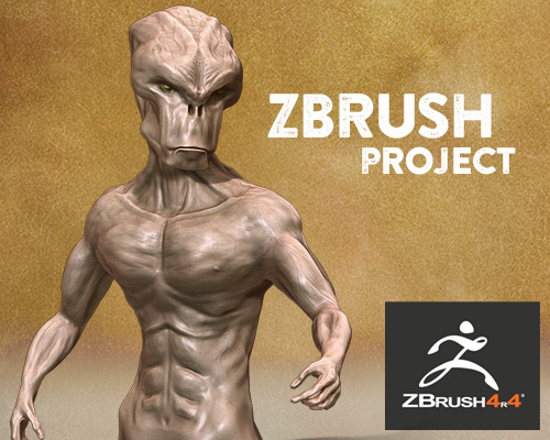 Zbrush 3D Project